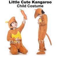 Free shipping 2014 New style Kids animal kangaroo halloween carnival cosplay party mascot costume-JCWY0010