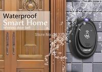digital waterproof 220V AC wireless doorbell door bell with 36 cord musicTunes Melody