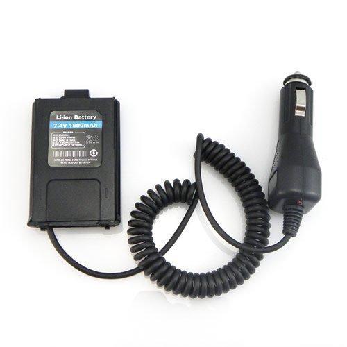 Car battery eliminator a0850i para baofeng uv 5r walkie talkie dois