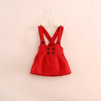 autumn winter girl  dress , beautiful girl dress .6 pcs/lot.