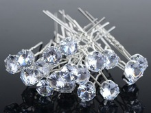 NEW 20 40Pcs Lots Wedding Bridal Crystal Faux Pearl Flower Hairpins Hair Pins