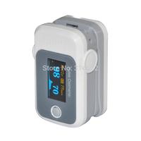 Health Care Blood Oxygen SpO2 Saturation Monitor Fingertip Pulse Oximeter Graywhite
