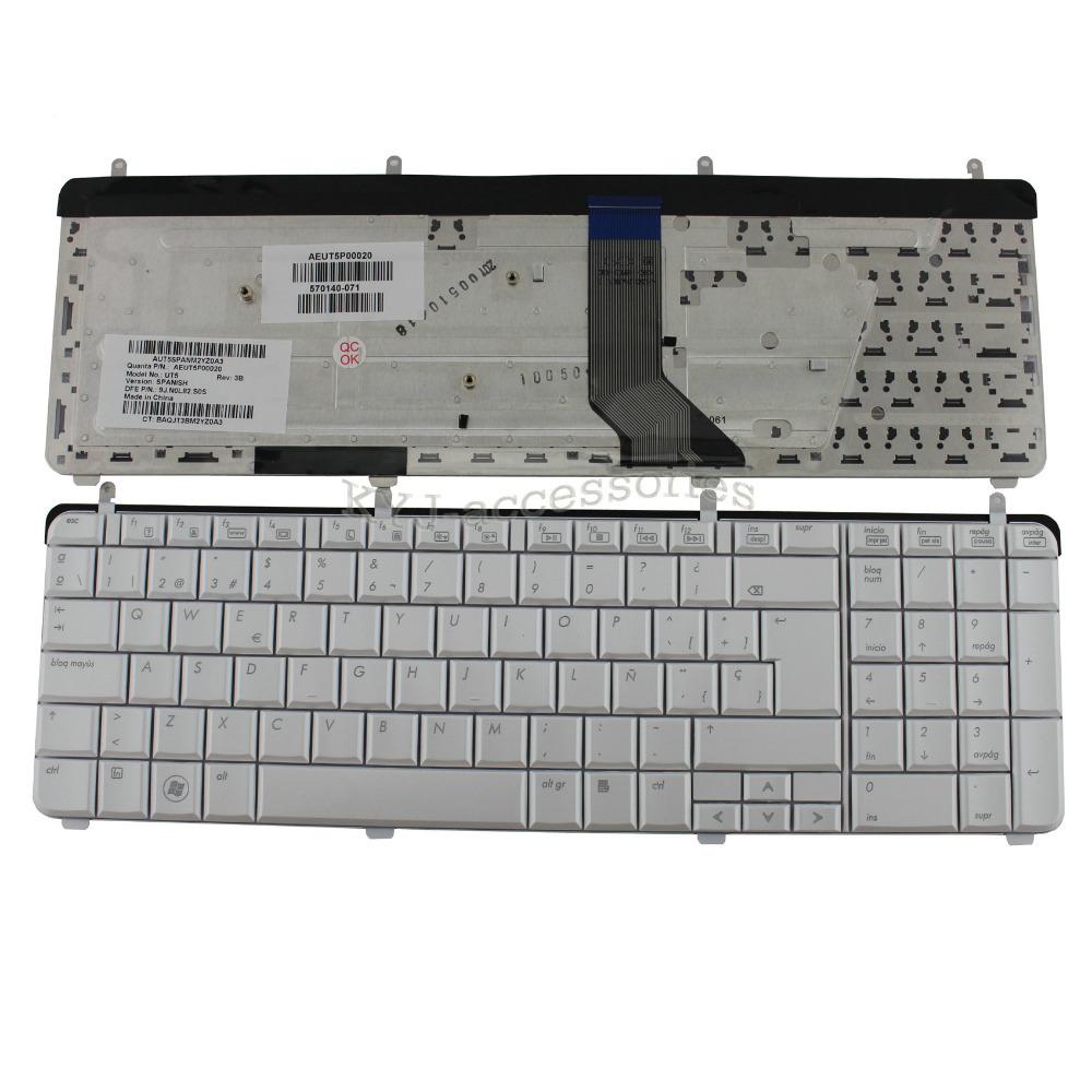New SP Keyboard Spanish Teclado for HP Pavilion dv7 dv7-2000 dv7-2200 dv7-3000 DV7-3006TX Laptop Replacement (K2633-HK)(China (Mainland))