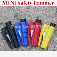 Mini Car Auto Emergency Safety Hammer Belt Window Breaker Cutter Escape Tool
