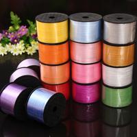 Free shipping 3pcs 90m length satin ribbon wedding supplies special ribbon for balloon more colors