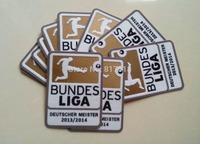 wholesale free shipping  2013-2014 BUNDES LIGA champion soccer patch soccer Badges