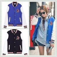 2014 New Fashion Brand Sport Suit Hoodies Baseball Coat Casual Sportswear Cardigan Tracksuit Moleton Feminino Sweatshirt Women
