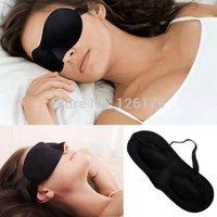 Black Sleeping Eye Mask Blindfold Shade Travel Sleep Aid Cover Light guide Rest 3D Blinder mascara de dormir