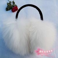 new 2014 winter earmuffs female long wool earmuff oversized warm earmuffs ear package ear ,muffs for women