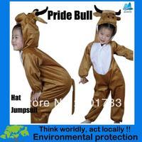 2013 New kids bull mascot carnival party pajamas costume-KMSC0006