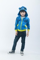 Freeshipping Autumn winter blue Children Child Boy Kids baby  casual Coat jacket outwear    OAQZ09001