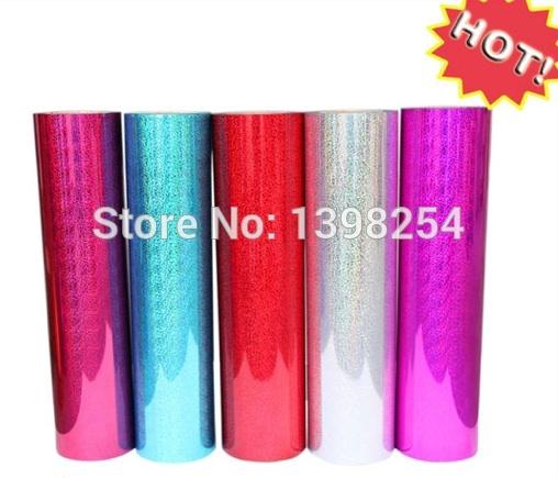 High Durable Cheap Hologram Heat Transfer Vinyl For Clothing(China (Mainland))