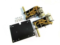 MATO 3:1 brass gearbox with steel shell for Heng Long 1/16 3888-1 Kingtiger rc tank(long shaft)