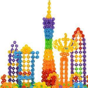 150cs Snow Snowflake Building Blocks Toy Bricks DIY Assembling Classic Toys Early Educational Learning Toys Free Shipping(China (Mainland))