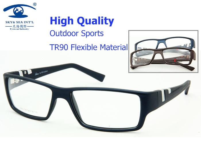 Men Accessories Top Grade TR90 Sports High Fashion Eyeglasses Frames Prescription Glasses Computer Designer Myopia Glasses(China (Mainland))