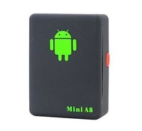 New 2014 GPS Tracker Mini A8, Mini Global Real Time 4 bands GSM/GPRS/GPS Tracking Device SOS Help Button free shipping