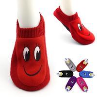 New Arrival Candy Colour Cartoon Floor Socks 2015 Fashion Slippers Anti-Slip 12pcs=6pairs/lot Free Shipping