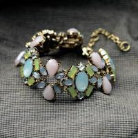 2014 Orange Black Blue White Charm Bracelet Women Bracelet Design Jewelry  Min $20(can mix)  Free Shipping Nickel and Lead Free