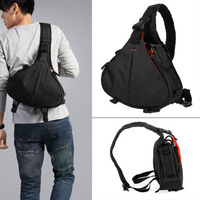 100% New High Quality DSLR/SLR Shoulder Digital Camera Bag Video Portable diagonal Triangle Carry Case Caden K1