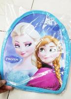 2014 New Fashion Frozen Bag Children School bags kids Cute Backpack for girl baby Snack bags mochila infantil KLL053