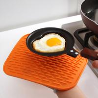 Multipurpose 1 cm thick heat insulation anti hot super soft 4 color 22*16cm Non-slip table mat