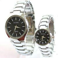 Free shipping Man Watch Lovers For Elegant Stainess Steel Luxury Popular Fashion Quartz Unisex Wristwatch Dropship Wholesale