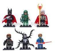 Super Heroes Minifigures Building Toys Batman Odin Blocks Toy Lots of 6 Sets Lot of