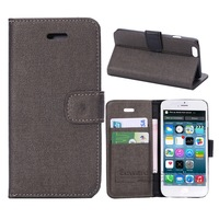 New On Market Oracle Flip Leather Mobile phone Cover case for iPhone 6 Card slots wallet For Apple With Stand holder 10pcs