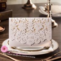 Wedding Invitation Cards 2014 New Arrival WISHMADE Wedding Invitation Favors Free Printable Cards white hollow flora Wedding Inv