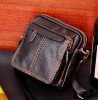 Men cow leather bag men messenger bags men's travel bag crossbody Bags casual bag designer handbags square briefcase desigual