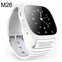 Stylish  U Watch M26 Smart Bluetooth WristWatch Smart Phone WHITE Free shipping