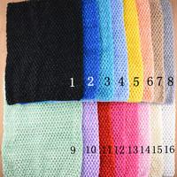 Free shipping , 12 inch Large Crochet tube top tutu top for girls' tutu dress crochet pettiskirt tutu tops 16 colors