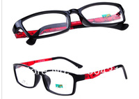 2014 brand glasses plastic steel frame unisex men women  myopia frame Plain glass spectacles oculos Gafas de sol good quality