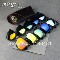 2014 brand rb 2140 Color filter retro mirror sunglasses big frame colorful sunglasses fashion glasses Men Women oculos de sol