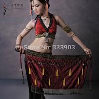 Belly Dance Hip Scarf Wrap Waistband Costume Belt Skirt Waist Chain Dancing