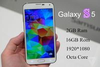 """Perfect Best 1:1 Original 5.1"""" S5 G900 Phone MTK6592 Octa Core 1.6Ghz Fingerprint 1920*1080 2G RAM 16MP Air Gesture For Sam sung"""