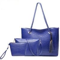 2014 hot new fashion luxury chain crocodile bag women handbag Picture Ms. shoulder bag women messenger bags big bag