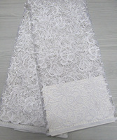 Free shipping White  chemical lace high quality , Fashion and beautiful water soluble 2014