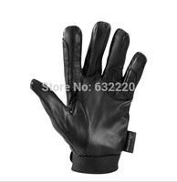 Professional equestrian wear resistance anti-slip leather sheepskin horse riding gloves FOUGANZA
