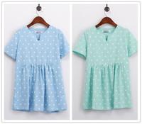 Plus Size Vestidos 2014 Summer Women Clothes Short Sleeve Floral Casual Dress Oversized Novelty T Shirt Dress Junior Clothing