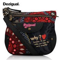 bolsas femininas 2014 women brand desigual bags women messenger bags sac desigual handbags genuine leather shoulder bags mochila