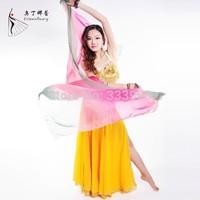 Belly Dance Scarf Chiffon Scarf Belly Dance Accessory Hip Scarf Silk Veil Dancing Belt Dance Scarf for Women