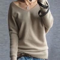 2014 fashion pure cashmere sweater women pullovers sweater 100% cashmere cardigan basic shirt big free shipping