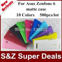 500pcs 100% positive feedback phone cases Super Frosted Shield hard matte Case For Asus ZenFone 6