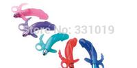 Penis Dildo Sex Vibrator Clitoris Massager Anal Stimulation G-Spot Vibrator Adult Sex Toys for Women Free Shipping DHL 100pcs