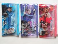 NEW Free Shipping Frozen Stationery Set (3 pencil+ruler+pen bag+eraser+pencil sharpener)for Children 3 Design Mix color vendor