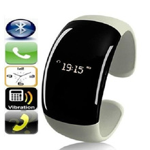 2014 Newest bluetooth smart bracelet watch OLED Display caller ID display anti-lost microphone Call Reminder fashion Wristband