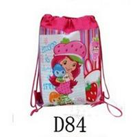 1 piece Children School Bag Kids Printing Cartoon Backpacks Drawstring Bag Shoulder Bag For Kids Gift kids school bag