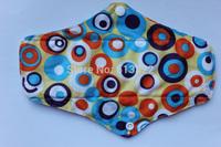 New Printed  Mama Pads Bamboo Mama's Cloth Menstrual Pads Washable 20pcs/Lot