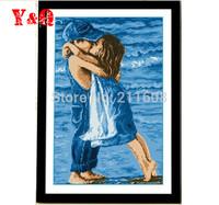 Sea Childhood Cross Stitch DIY Needlework wall Handmade Embroidery! Free Shipping!